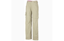 Columbia Girl's Silver Ridge Congroenible Pant fossil